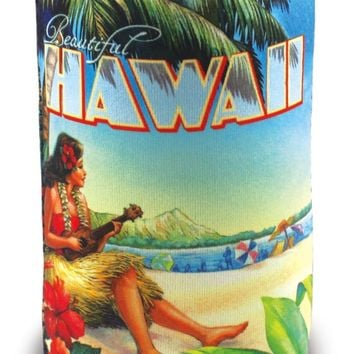 Island Can Cooler, Can Cooler, Vintage Hawaii