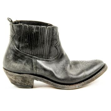 Black 36 EUR - 6 US Golden Goose Womens Ankle Boot G25D292 A1
