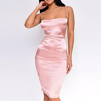 TIA Satin Dress