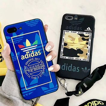 Adidas X Kenzo Trending Women Men Stylish Phone Case For iPhone X iPhone 8 plus iphone 6 6s 6plus 7s plus(4-Style) I-OF-SJK