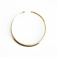 THIN SIMPLE COLLAR NECKLACE