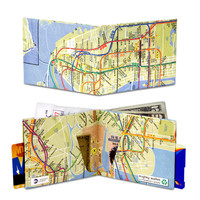 NYC Subway Map Mighty Wallet 856824001866