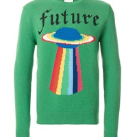 Indie Designs Future UFO Knitted Jumper