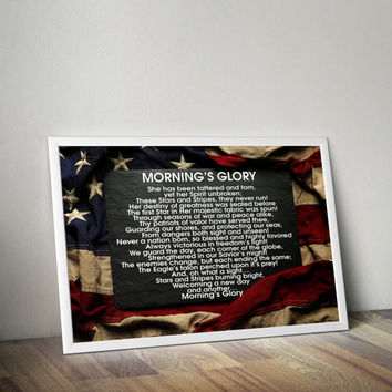 American Flag Patriotic Wall Art, American Flag Man Cave Art, Military Wall Art Gift, Patriotic Americana Decor, American Wall Art Decor