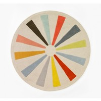 DwellStudio Pinwheel Round Rug - Living Room - Shop By Room