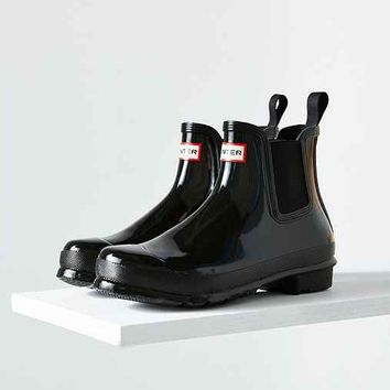 Hunter Original Chelsea Glossy Rain Boot