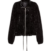 Crushed-velvet Jacket - from H&M