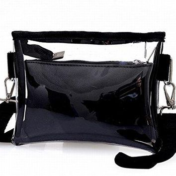 TRANSPARENT GIRL Fashion crossbody bag Clear Purse and Totes Bag in Bag for women girls 3 colors