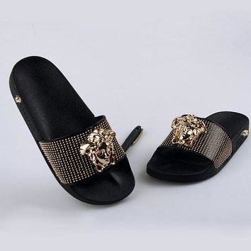 One-nice™ Versace Women Fashion Casual Slipper Shoes I