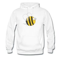 Sweat-shirt à capuche Cool & Crazy Funny Bee / Bumble Bee (Sweet & Cute) | Spreadshirt