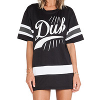 UNIF Duh Hockey Tee in Black