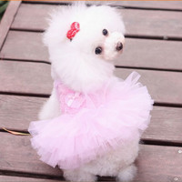 Dog Clothing Small Dog Clothes Summer  Free Shipping