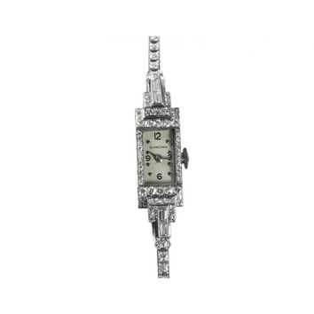 Blancpain Vintage Ladies Cocktail Watch - Platinum with over Two Carats of Diamonds