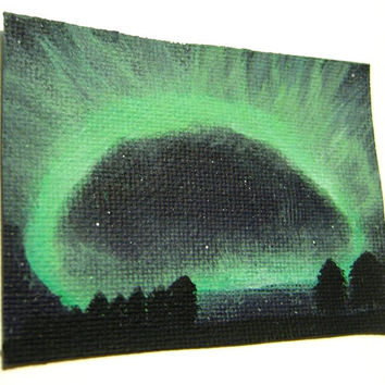 Northern Lights ACEO