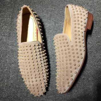 Cl Christian Louboutin Loafer Style #2339 Sneakers Fashion Shoes - Sale