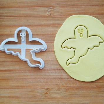 Ghost Cookie Cutter Made From Biodegradable Material / Brand New / Party Favor / Kids Birthday / Baby Shower / Cake Topper