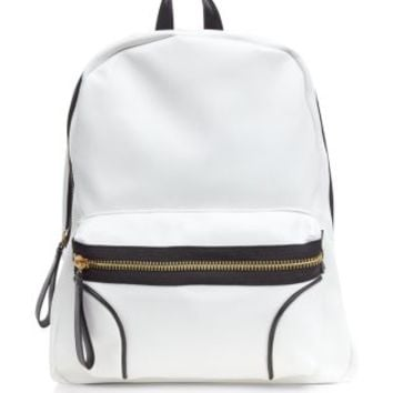 Black and White Sports Backpack