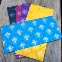 Block Printed Luxe Envelopes