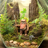 Ewok Terrarium World - Star Wars - Forest of Endor - Return of the Jedi