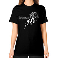Death note Unisex T-Shirt (on woman)