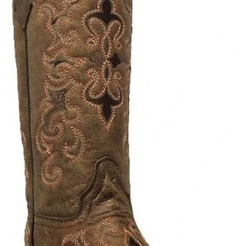 Corral Women's Fleur Embroidered Snip Toe Fashion Western Boots