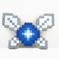Zelda Navi fridge magnet , legend of Zelda Navi , hama perler bead , pixel bead sprite, zelda gift , uk seller