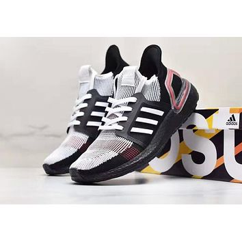 Adidas UltraBOOST 19 New fashion mesh sports leisure shoes