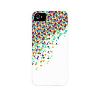 "iPhone 5 Case - ""Funfetti 2: Electric Boogaloo"" Graph Drawing - unique iPhone case, art iPhone case, hipster iphone case, iphone 5 case"