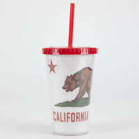 California Bear Tumbler White Combo One Size For Women 22976816701