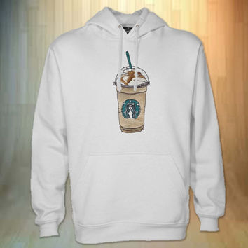 starbucks coffee hoodie black for men and women