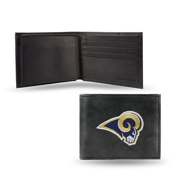 Los Angeles Rams Embroidered Billfold Wallet