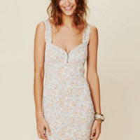 Intimately Smocked Printed Bodycon at Free People Clothing Boutique