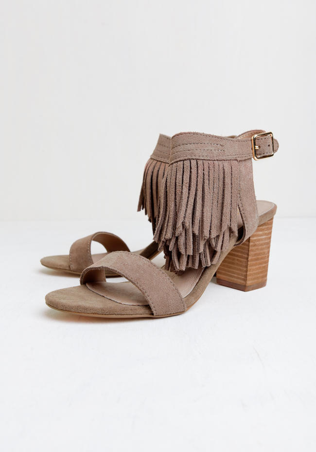 f3a57d6f6 Kissy Fringe Heels By Restricted from ThreadSence