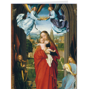 David: Virgin and Child Holiday Cards