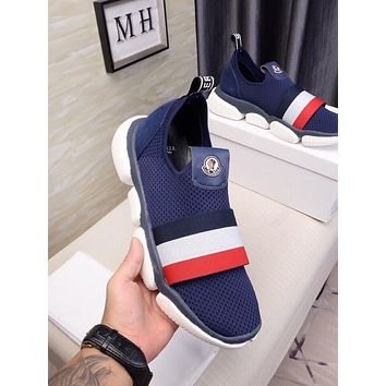 MONCLER popular Casual Running Sport Shoes Sneakers Slipper Sandals High Heels Shoes