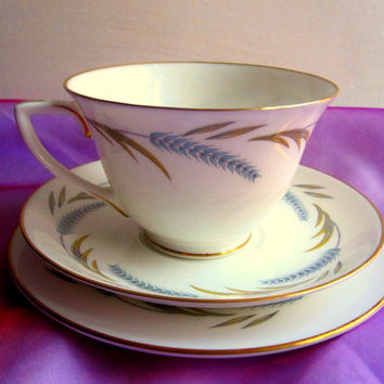 English Tea set by Royal Worcester 'Harvest by TheDorothyDays