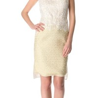 Giambattista Valli Lace to Gold Dress | SHOPBOP | Use Code: INTHEFAMILY25 for 25% Off