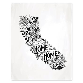 California - Print & Canvas