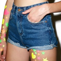 Faye Denim Shorts