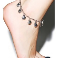 VIDAKUSH Sea Shell Charm Anklet | Dolls Kill