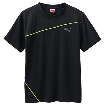 puma diagonal performance tee boys 8 20 size  number 2