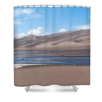 Great Sand Dunes - Shower Curtain