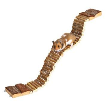 Trixie Suspension Bridge Wooden Hamster Gerbil Cage Pet Ladder