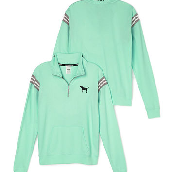 LIMITED EDITION BOYFRIEND HALF-ZIP - PINK - Victoria's Secret