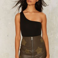 Nasty Gal All for One Shoulder Bodysuit