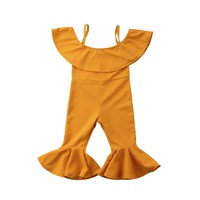 Mustard Yellow Trendsetter Jumpsuit 24M-6T