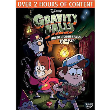 Walmart: Gravity Falls: Six Strange Tales (DVD + Mystery Book Journal #3) (Widescreen)