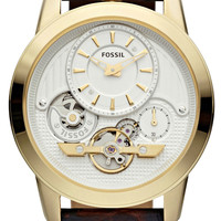 Fossil ME1127 Twist Brown/Gold