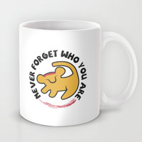 Never Forget Who You Are. (The Lion King) Mug by aguvagu