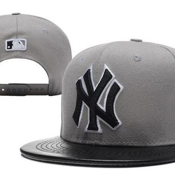 Mlb New York Yankees Snapback Cap Snapback Hat - Ready Stock